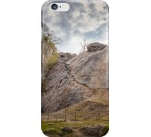 Dinas Rock mountaineering Pontneddfechan iPhone Case/Skin