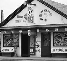 Angels on route 66 by Finbarr Reilly