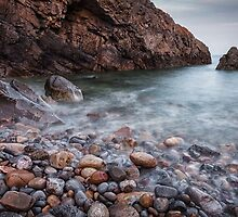 Brandy Cove Gower Swansea by leightoncollins