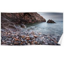 Brandy Cove Gower Swansea Poster