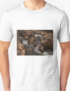 Spooky faces in a stream Unisex T-Shirt