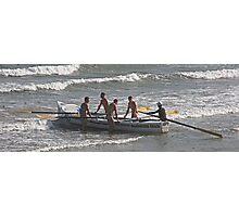 Surf Boat Crew - Ocean Beach, NSW- February 2014 Photographic Print