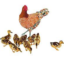 Chicken Duckling Adoption by susancranelink