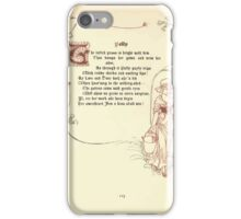 The Old Garden and Other Verses by Margaret Deland and Wade Campbell, Illustrated by Walter Crane 1894 253 - Polly iPhone Case/Skin
