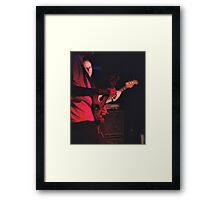 Bass mirroring the lead Framed Print