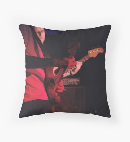 Bass mirroring the lead Throw Pillow