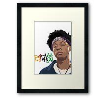 b4da$$ Framed Print