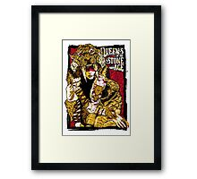 queens of the stone age_tiger Framed Print