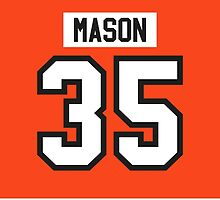 Philadelphia Flyers Steve Mason Jersey Back Phone Case by Russ Jericho