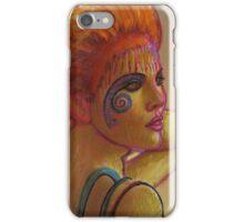 Painted Herselfie  iPhone Case/Skin