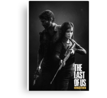 the last of us remastered Canvas Print