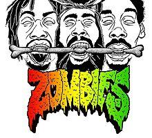 flat bush zombies_rasta by birdEATbanana