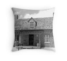 Shingles & Bricks Throw Pillow