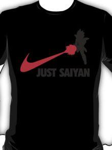 Just Saiyan T-shirt 2 T-Shirt
