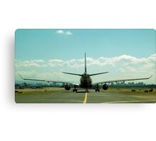 Bigger Plane Canvas Print