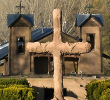 Santuario de Chimayo, Good Friday 2009 by TheBlindHog