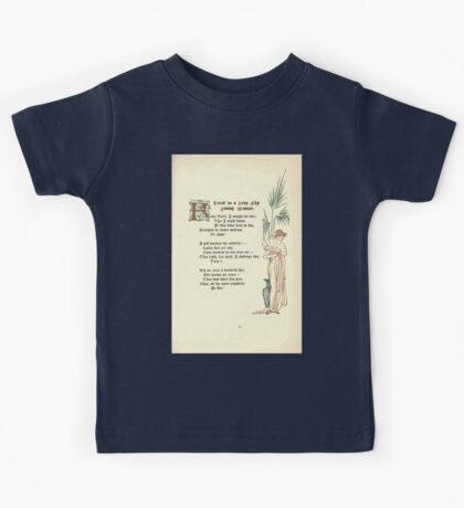 The Old Garden and Other Verses by Margaret Deland and Wade Campbell, Illustrated by Walter Crane 1894 169 - Lines to a Very Shy Young Woman Kids Tee