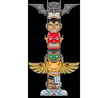 JUSTICE TOTEM Photographic Print