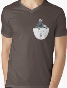 Chappie Pocket Mens V-Neck T-Shirt
