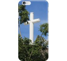 Stone Cross With Trees iPhone Case/Skin