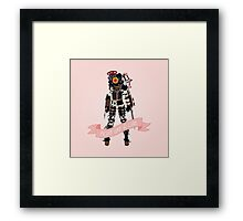 Fight Like a Girl: Big Sister Framed Print
