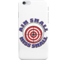 AIM SMALL - MISS SMALL iPhone Case/Skin
