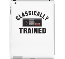 Classically Trained Nintendo T-Shirt iPad Case/Skin
