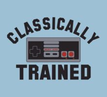 Classically Trained Nintendo T-Shirt by popculture