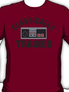 Classically Trained Nintendo T-Shirt T-Shirt
