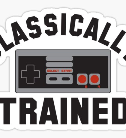 Classically Trained Nintendo T-Shirt Sticker