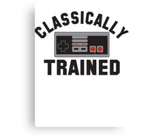 Classically Trained Nintendo T-Shirt Canvas Print