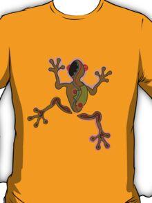 Frog in peruan symbols style. T-Shirt