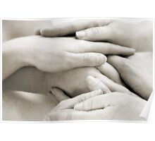 Hands: Togetherness Poster