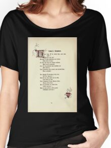 The Old Garden and Other Verses by Margaret Deland and Wade Campbell, Illustrated by Walter Crane 1894 161 - Love's Wisdom Women's Relaxed Fit T-Shirt