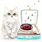 Kitty Got a Record Player by Ryan Conners