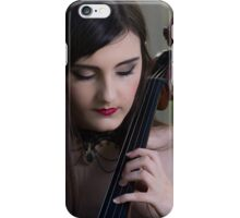 The Cellist iPhone Case/Skin