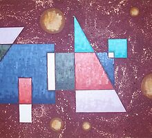 Geometric Bliss #3 by Mady Lewis