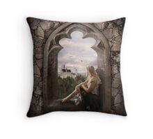 Cinderella's Dream Throw Pillow