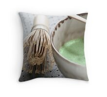 Macha #1 Throw Pillow