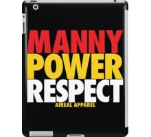 MANNY POWER RESPECT - Pacquiao by AiReal Apparel iPad Case/Skin