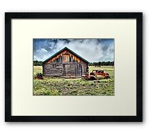 Arcadian Past Framed Print