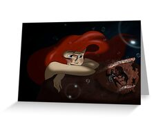 "The Little Mermaid - Ariel ""A new piece for her collection"" Greeting Card"