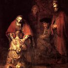 Return of the Prodigal Son by Rembrandt van Rijn, 1662 by troycap