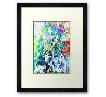 Energy Translucent Haiku Framed Print