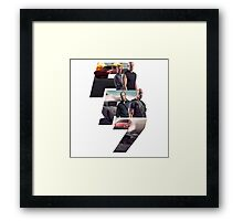 Fast and furious 7 Framed Print