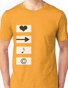 Four Symbols Unisex T-Shirt