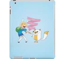 Fight Like a Girl: Fionna + Cake iPad Case/Skin
