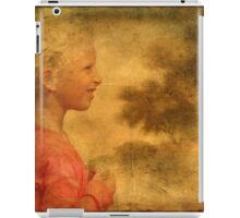 The Danish Song Is A Young Blond Girl iPad Case/Skin