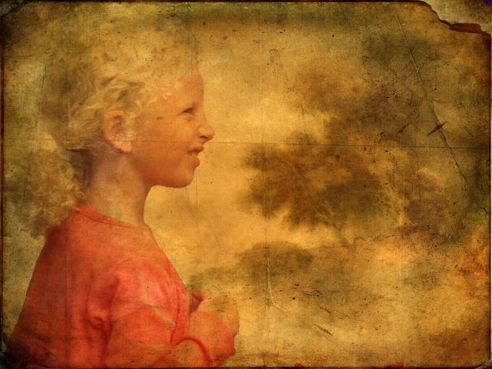 The Danish Song Is A Young Blond Girl by © Kira Bodensted