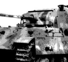Panther Tank Sticker